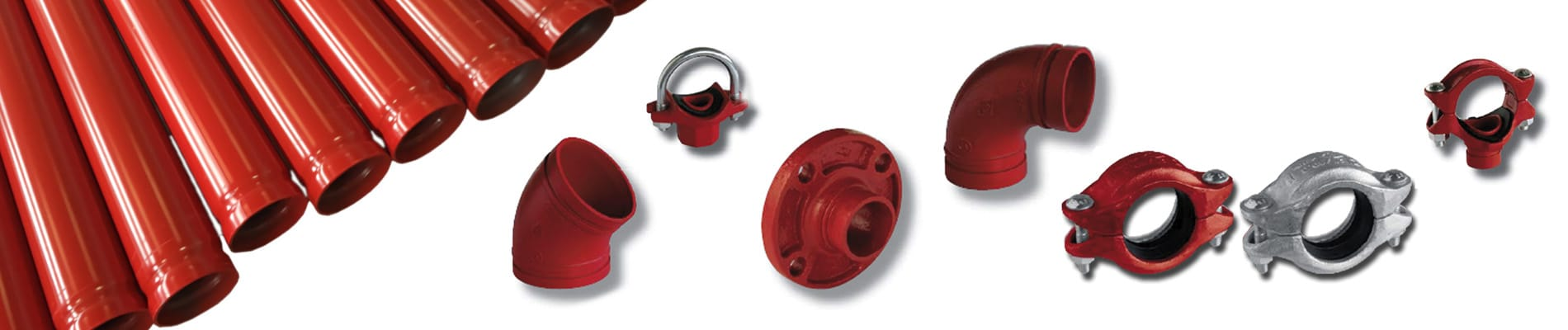 Grooved fire protection materials