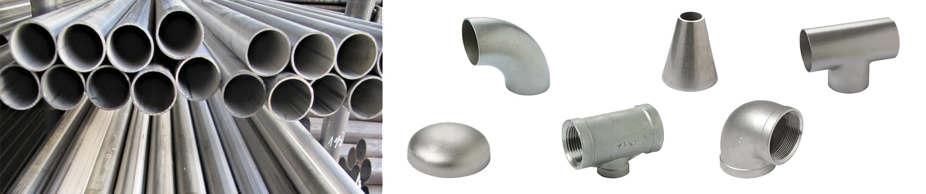 Stainless steel tubes and accessories